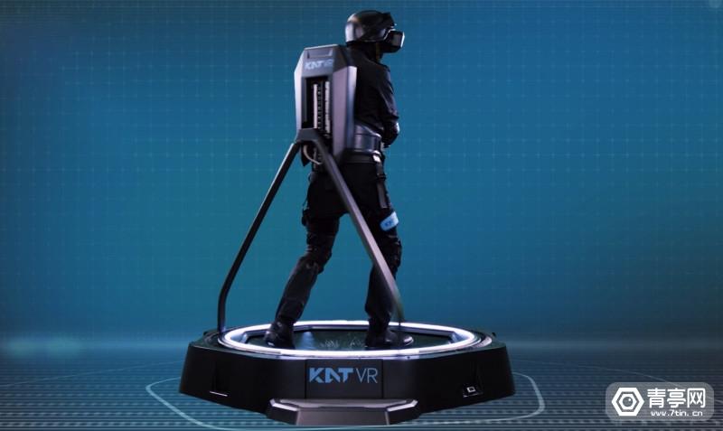 VR跑步机方案商KATVR